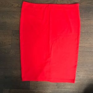 Forever 21 - Red Pencil Skirt - Size 3x